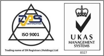 UKAS DAS ISO 9001 Certification